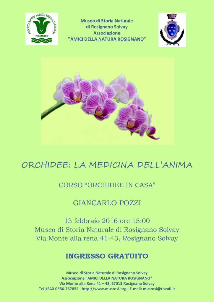 ORCHIDEE 2016 - A4